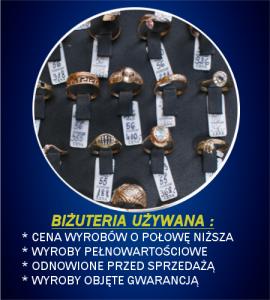 Nasza oferta biżuterii używanej