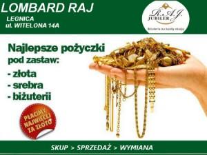 Lombard, Najlepsze ceny skupu złota w Legnicy