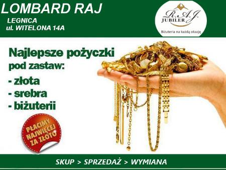 Lombard skup, sprzedaż